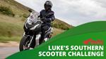 Luke's Southern Scooter Challenge with Ewan Allan Honda